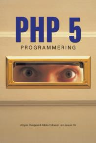 Cover for PHP 5-programmering