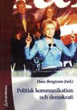 Omslagsbild för Politisk kommunikation och demokrati