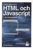 Cover for HTML och Javascript: en introduktion