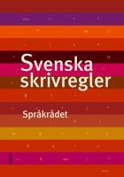 Omslagsbild för Svenska skrivregler