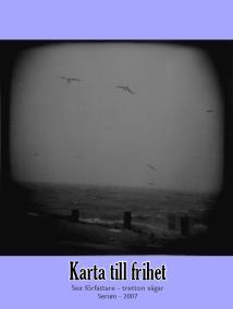 Cover for Karta till frihet - sex författare - tretton vägar