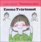 Omslagsbild för Emma Tvärtemot - Barnbok med tecken för hörande barn