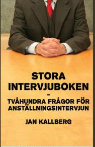 Cover for Stora intervjuboken