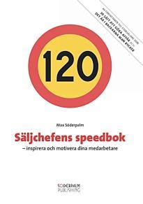 Cover for Säljchefens speedbok - inspirera och motivera dina medarbetare