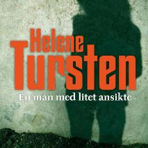 Cover for En man med litet ansikte