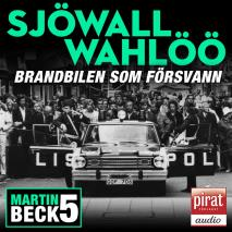 Cover for Brandbilen som försvann