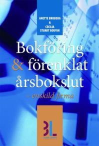 Cover for Bokföring & förenklat årsbokslut (K1)