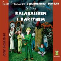 Omslagsbild för Demonernas portar 2 - Kalabaliken i Karsthem