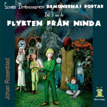 Cover for Demonernas portar 3 - Flykten från Ninda