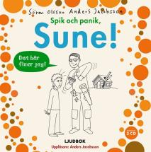 Omslagsbild för Spik och panik, Sune!