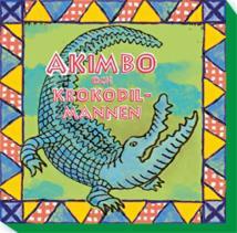 Cover for Akimbo och krokodilmannen