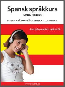 Cover for Spansk språkkurs grundkurs