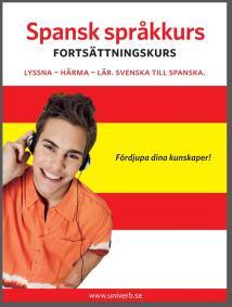 Omslagsbild för Spansk språkkurs fortsättningskurs