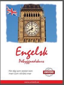 Cover for Engelsk språkkurs påbyggnadskurs
