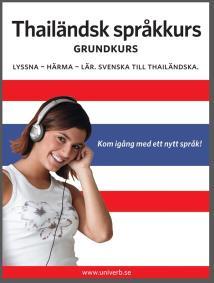 Cover for Thailändsk språkkurs grundkurs