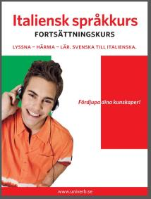 Cover for Italiensk språkkurs fortsättningskurs