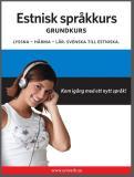 Cover for Estnisk språkkurs grundkurs