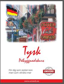 Cover for Tysk språkkurs påbyggnadskurs