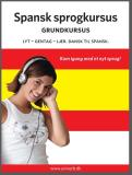 Cover for Spansk sprogkursus Grundkursus