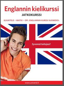 Cover for Englannin kielikurssi jatkokurssi