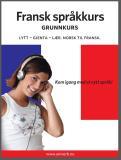 Omslagsbild för Fransk språkkurs Grunnkurs
