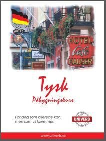 Cover for Tysk påbygningskurs