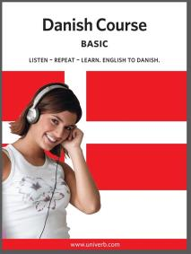 Cover for Danish basic course