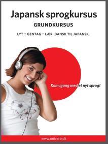 Cover for Japansk sprogkursus Grundkursus