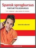 Omslagsbild för Spansk sprogkursus Fortsættelseskursus