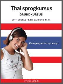 Omslagsbild för Thai sprogkursus Grundkursus