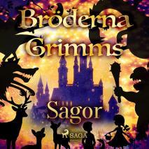 Omslagsbild för Bröderna Grimms Sagor