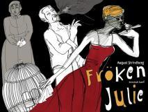 Cover for Fröken Julie / Lättläst