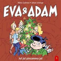 Omslagsbild för Eva & Adam : Jul, jul, pinsamma jul - Vol. 5