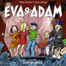 Omslagsbild för Eva & Adam : Lyckliga idioter - Vol. 12