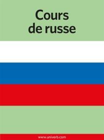Omslagsbild för Cours de russe