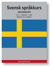 Cover for Svensk språkkurs