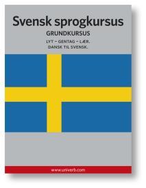 Cover for Svensk sprogkursus