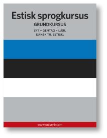Omslagsbild för Estisk sprogkursus