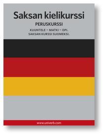 Omslagsbild för Saksan kielikurssi