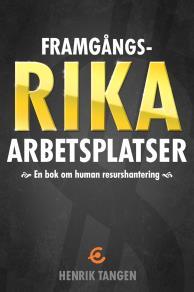 Omslagsbild för Framgångsrika arbetsplatser -en bok om human resurshantering