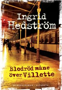 Cover for Blodröd måne över Villette