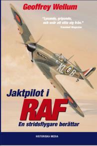 Omslagsbild för Jaktpilot i RAF : en stridsflygare berättar