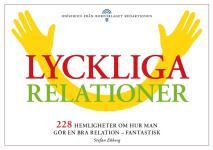 Omslagsbild för Lyckliga relationer - 228 hemligheter om hur man gör en bra relation - fantastisk