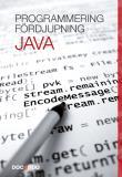 Cover for Programmering Java Fördjupning
