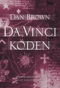 Cover for Da Vinci-koden