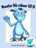 Omslagsbild för Monster Blå räknar till 10