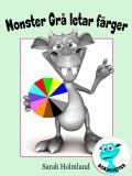 Omslagsbild för Monster Grå letar färger