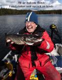 Omslagsbild för 50 år bakom flötet - Fiskekrönikor med tips och ett leende