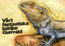 Omslagsbild för Vårt fantastiska keldjur Gunvald