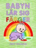 Omslagsbild för Babyn lär sig färger